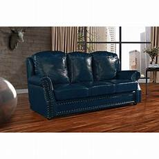 Nailhead Trim Sofa 3d Image by Leather Sofa 3 Seater Living Room With Nailhead