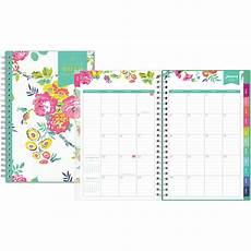 Monthly Planner Book Day Designer For Blue Sky 2019 Weekly Amp Monthly Planner