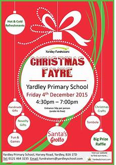 Christmas Poster Templates Christmas Fayre All Documents