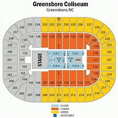 Greensboro Coliseum Seating Chart For Wwe Greensboro Coliseum Seating Brokeasshome Com