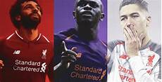 wallpaper jersey liverpool 2019 update liverpool 18 19 home away and third kits leaked