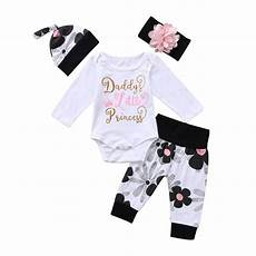 newborn daddys clothes 4pcs newborn baby s princess floral