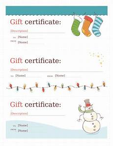 Ms Word Gift Certificate Template 2020 Gift Certificate Form Fillable Printable Pdf