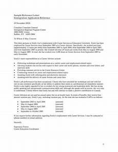 Immigration Letter Of Recommendation For Family Free 4 Character Reference For Immigration