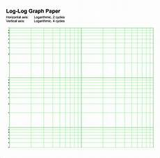 Printable Logarithmic Graph Paper 7 Sample Log Graph Papers Sample Templates