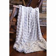 faux fur throw blanket modern grey plush rabbit walmart