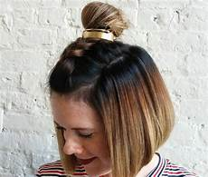 learn to master the basic hair bun in just 5 simple steps