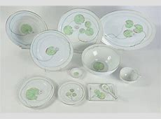 "Hermes ""Nil"" Porcelain Dinnerware Service 46 Pieces at 1stdibs"