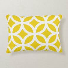 yellow cushions yellow scatter cushions zazzle co uk