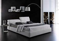modern grey platform bed with storage mj087 contemporary