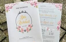 10 contoh undangan pernikahan yang bisa jadi referensimu