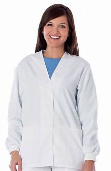 white scrub coats for as clearance fundamentals by white swan s cardigan
