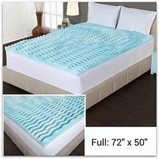 mattress topper memory foam size milliard 2 inch egg