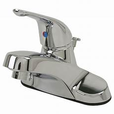 Home Depot Kitchen Sink Faucets Ultra Faucets 4 In Centerset Single Handle Bathroom