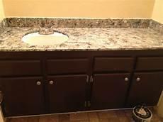 gingers giani granite countertop paint bathroom remodel