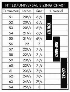 Cape Size Chart Size Chart Baseball Caps Team Sports Planet
