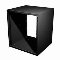 penn elcom 10u 19 inch flat pack rack cabinet 480mm 18 9