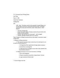 Ceremonial Speech Outline Alex Wong Ceremony Speech Sentence Outline C121