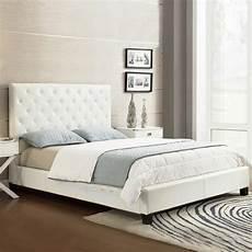 homesullivan toulouse white upholstered bed