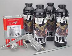 u pol raptor truck black bed liner kit me 820 ebay