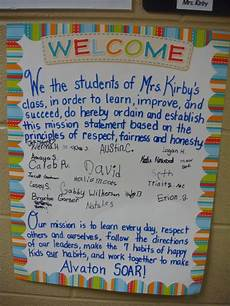 Classroom Mission Statement Leader In Me Alvaton Elementary