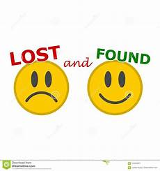 Lost And Found Sign Lost And Found Sign Stock Vector Illustration Of Loosing