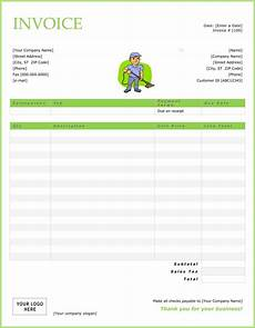 House Cleaning Invoice Example House Cleaning Free Sample House Cleaning Invoices