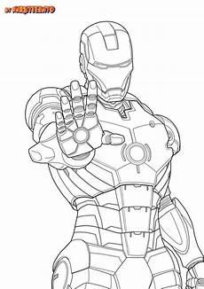 Malvorlagen Superhelden Unicorn Ironman Marvel Japanime Lineart Noir By Naruttebayo67