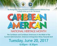 Caribbean American Heritage Month Caribbean Heritage Month Celebration