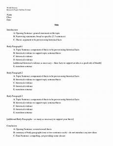 Research Paper Format Template Research Paper Format Fotolip Com Rich Image And Wallpaper