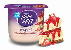 Dannon Light And Fit Strawberry Cheesecake Yogurt Nutrition Strawberry Cheesecake Nonfat Yogurt Light Amp Fit 174