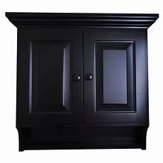 wooden medicine cabinet brown maple wood black paint