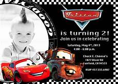Cars Birthday Invitation Templates Free Printable Disney Cars 2 Birthday Invitations Car