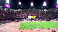 London Olympic Stadium Lights London Olympic Stadium Seat Lighting Youtube