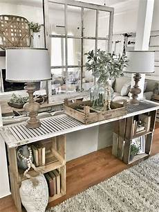 Sofa Table Decorations For Living Room 3d Image by Easy Diy Console Table Home Living Room Home Decor