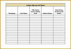 Weekly Sign Up Sheet 4 Weekly Sign Up Sheet Template Fabtemplatez