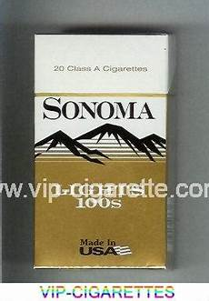 Sonoma Menthol Lights In Stock Sonoma Full Flavor Cigarettes Soft Box Online