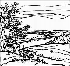 Kostenlose Malvorlagen Landschaften Landschaften Malvorlagen Malvorlagen1001 De