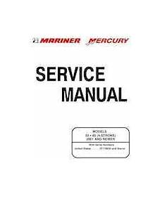 2001 Mercury Mariner 50 60hp Factory Service Manual 8 95