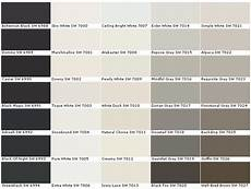 Sherwin Williams Industrial Color Chart Paints Sherwin Williams 2017 Grasscloth Wallpaper