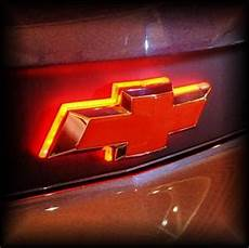 Lighted Chevy Bowtie Grille Emblem Chevy Illuminated Led Rear Bowtie Mr Kustom Auto