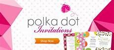 Poka Dot Invitations Invitations Announcements And Stationery Polka Dot