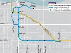 Light Rail Map Phoenix Tempe Tempe Streetcar Work Begins June 1 Phoenix Az Patch