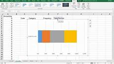 Excel 2013 Stacked Bar Chart Excel Stacked Bar Chart Of Single Variable Youtube