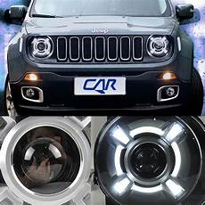 Jeep Renegade Hid Lights For 2015 2017 Jeep Renegade Hid Led Headlight With Drl And