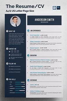 Portfolio Cv Examples Web Developer Cv Resume Template 68317