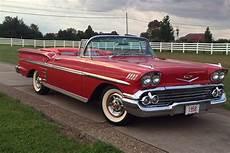 1958 Impala Color Chart 1958 Chevrolet Impala Convertible 198857