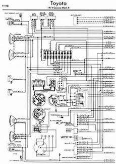 Toyota Corona Mark Ii 1971 Wiring Diagrams Online Manual