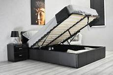 gas lift up ottoman storage bed 3ft single 4ft6