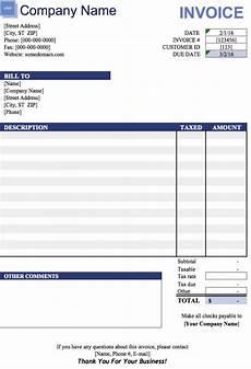 Microsoft Office Invoice Templates Free Invoice Templates 8 Printable Docs Xlsx Amp Pdf